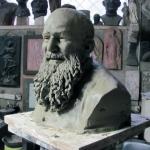 Busto in Creta di P. Manna