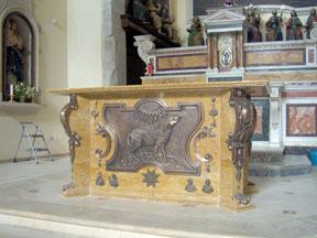 Altare in Bronzo