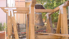 Wooden Tower of bell Marinelli