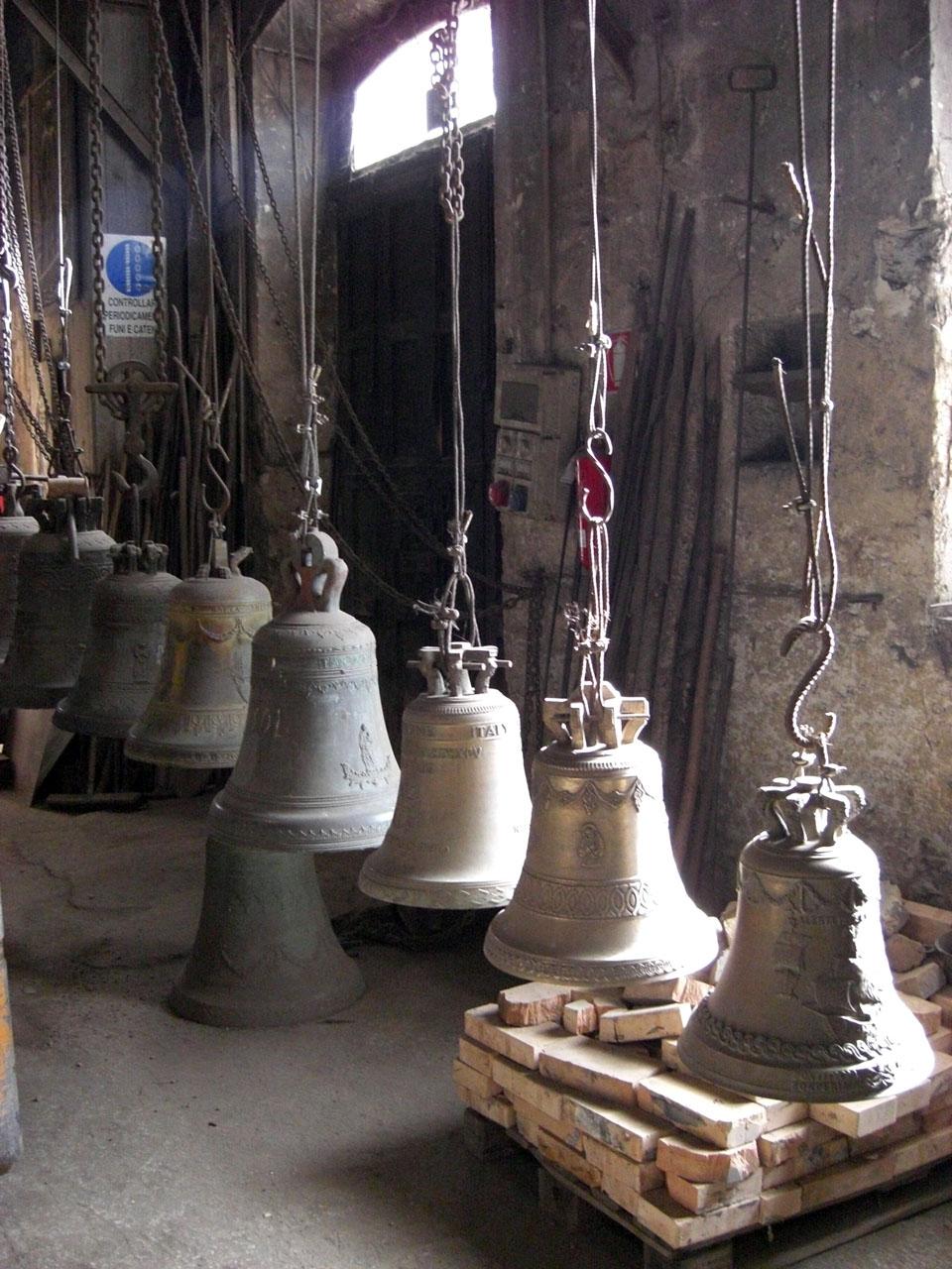 Le Campane Di Agnone.Museo Marinelli Campane Marinelli Pontificia Fonderia Di