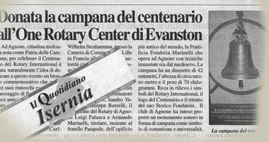 Donata la Campana del Centenario