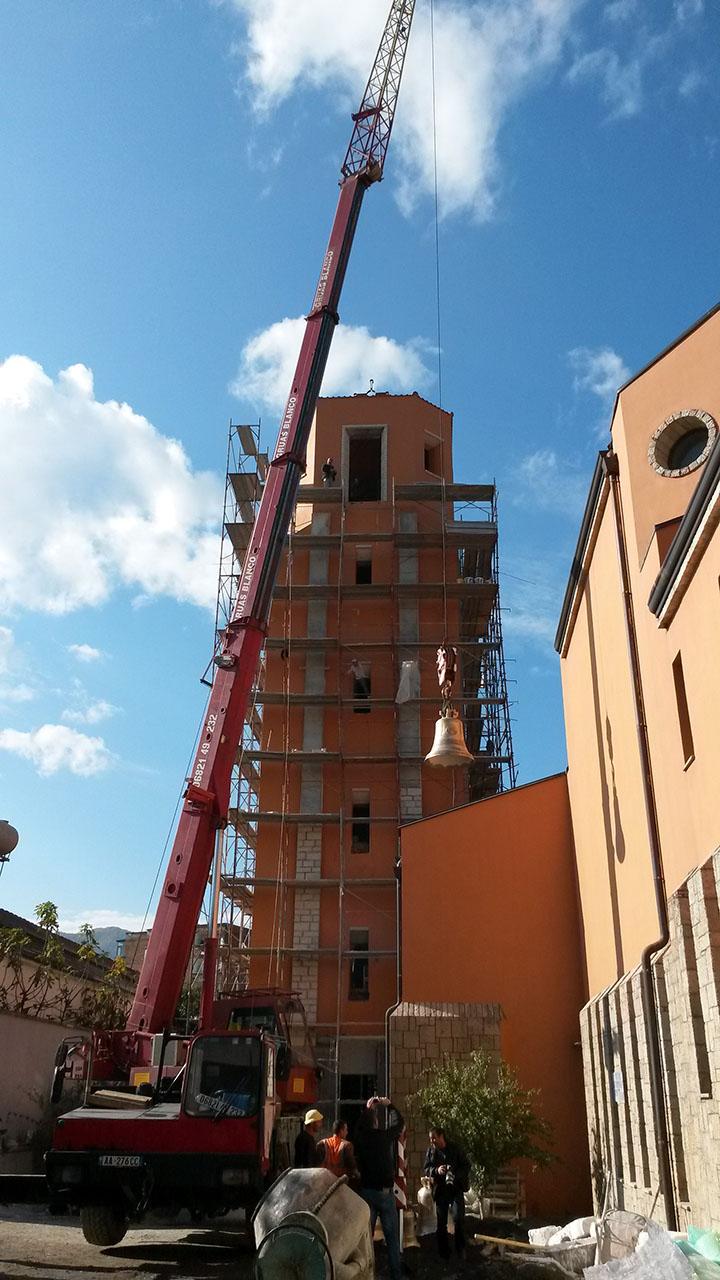 La salita sulla torre - Campane Marinelli