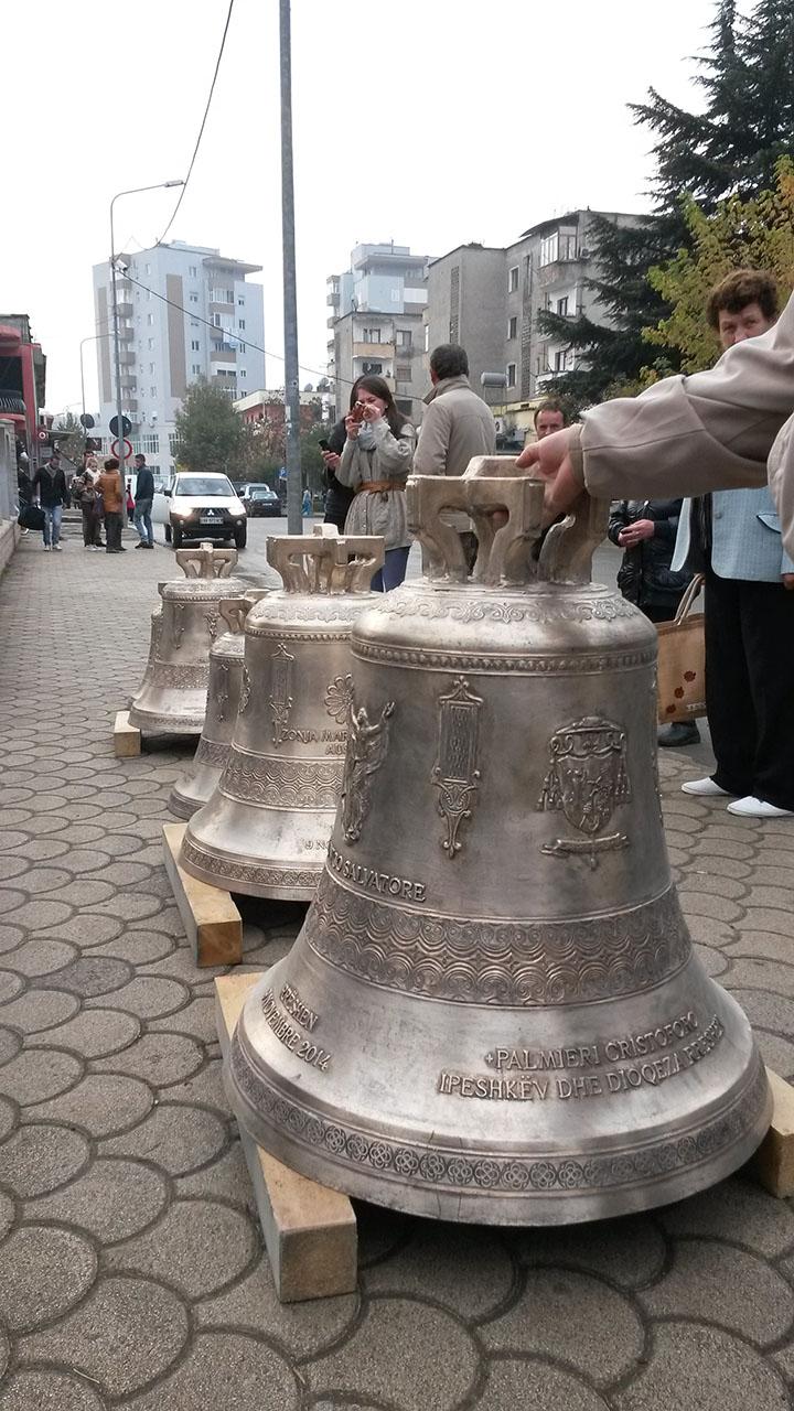Le campane Marinelli - Diocesi di Rrëshen
