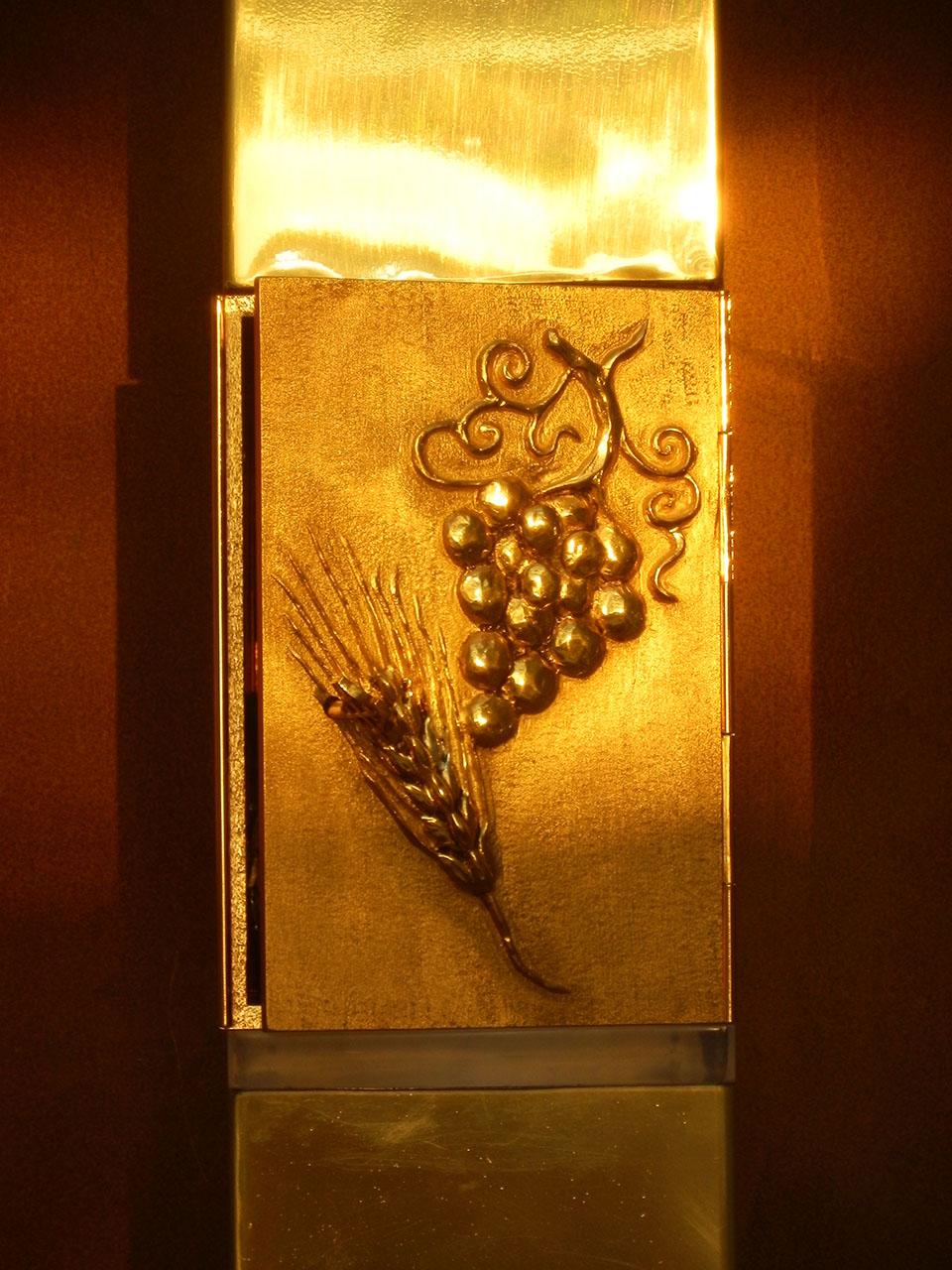 Bronzo chiesa madonna delle stelle - Riardo