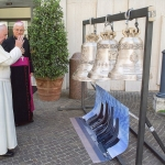 Papa Francesco recita litanie della Madonna