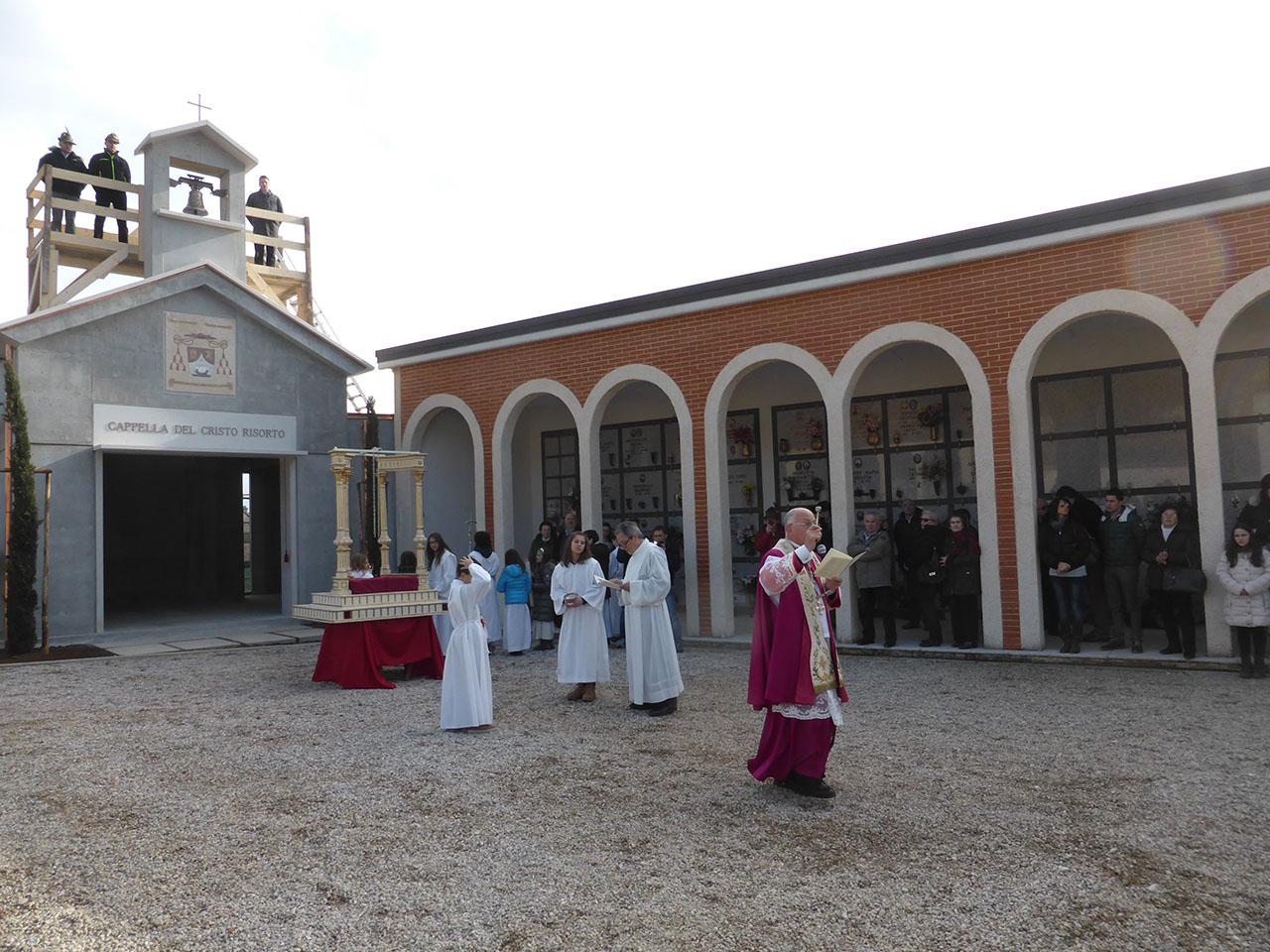 Mons. Liberio Andreatta Cimitero Fietta